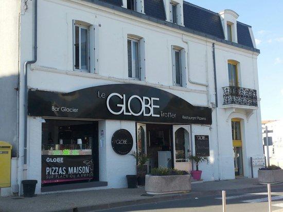 Le Globe Trotter : La façade