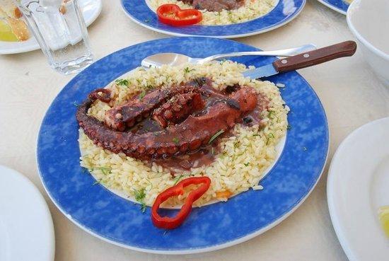 Skala Restaurant: Octopus