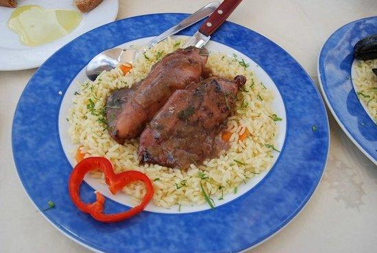 Skala Restaurant: Squid