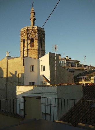 Valenciaflats Catedral: терраса и вид на север