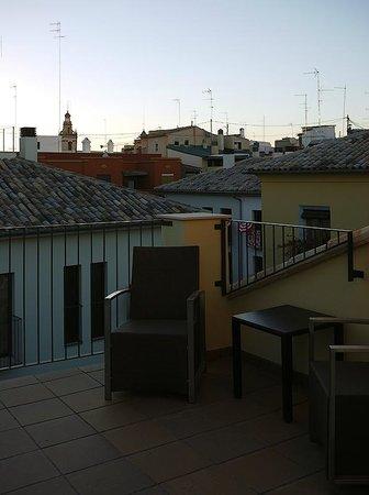 Valenciaflats Catedral: терраса и вид на запад