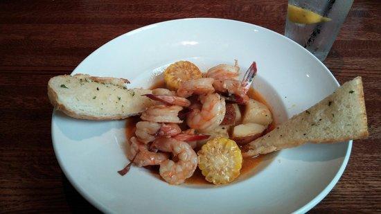 Copeland's Of New Orleans : BBQ shrimp boil