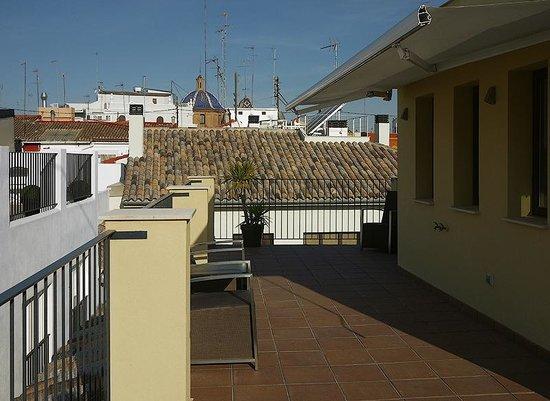 Valenciaflats Catedral: терраса