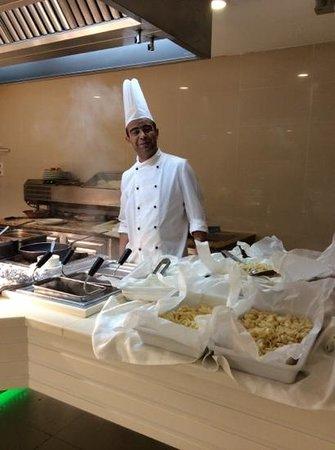 Khayam Garden : tailor made pasta..delicious! friendly service.