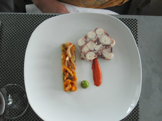 Celeste Restaurant : Ginger and Fred Restaurant - octopus