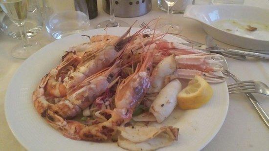 Scalo 34 Restaurant: Grigliata di pesce