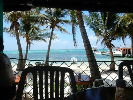 Estel's Dine by the Sea: View from deck dining area