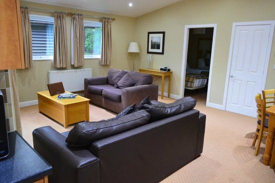 Carnforth, UK: View of lounge