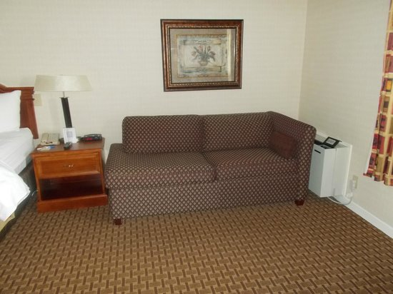Comfort Inn Toronto Northeast: couch