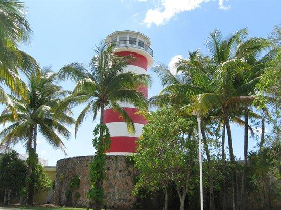 Grand Lucayan, Bahamas: lighthouse
