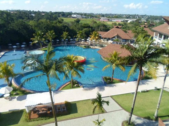 Recanto Cataratas Thermas Resort & Convention: A vista da sacada