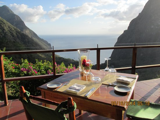 Ladera Resort: View from breakfast table