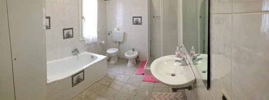 Panorama Hotel : bagno