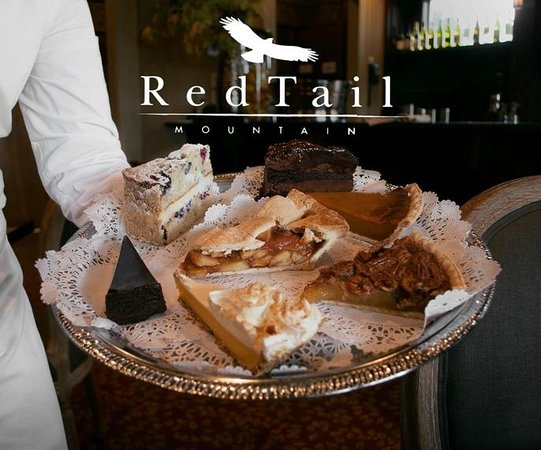 Red Tail Mountain Golf Club: GREAT Homeade desserts