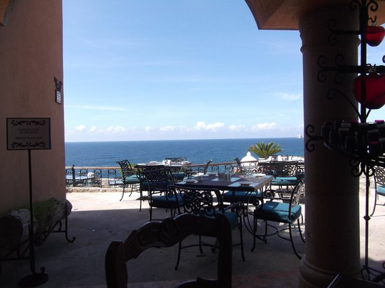 Hacienda Encantada Resort & Spa: View while having breakfast