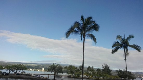 Hilo Seaside Hotel: Look out