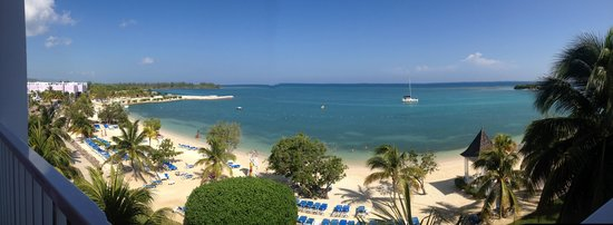 Hotel Riu Montego Bay : View from suite 5325