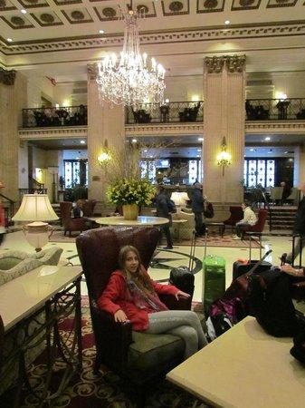 The Roosevelt Hotel : Lobby