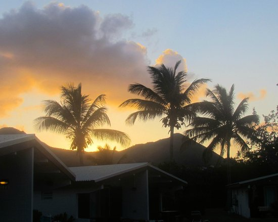 Club Orient Resort: Sunset from our patio