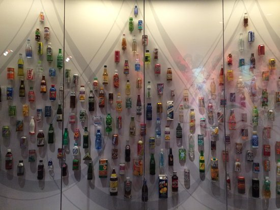 World of Coca-Cola: All the different coke products