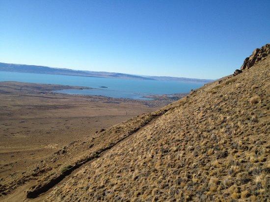 Calafate Mountain Park: la vista bajando