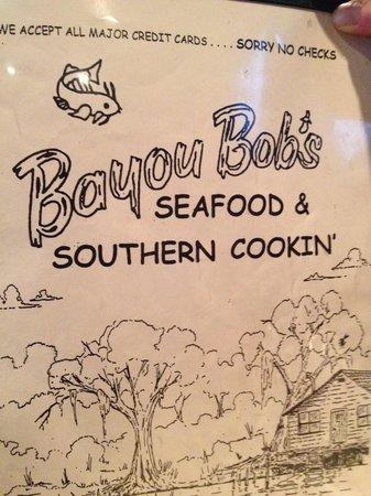 Bayou Bob's Seafood & Southern Cookin