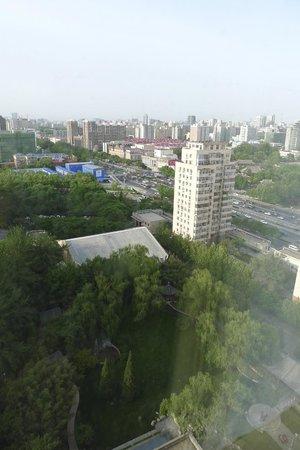 Shangri-La Hotel, Beijing : Garden vies