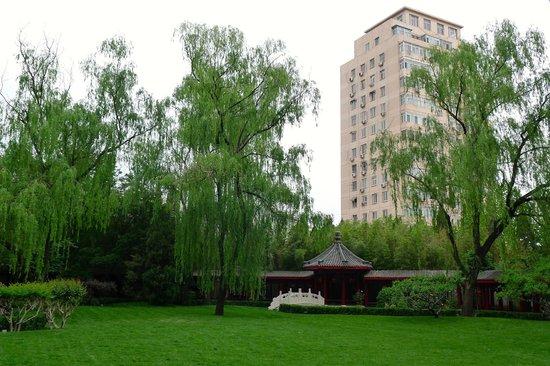 Shangri-La Hotel Beijing: Garden