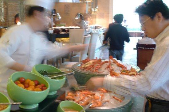 Shangri-La Hotel Beijing : Lunch buffet