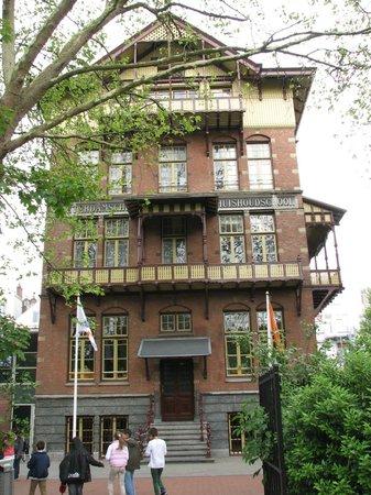"Stayokay Hostel Amsterdam Vondelpark: The ""old School House"" part of the hostel"