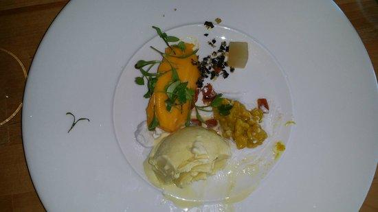 Ben's Cornish Kitchen: Dessert - sweet curry plate