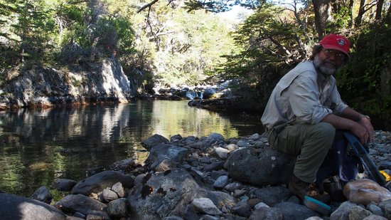 Poncho Moro Lodge: Fishing with Raul