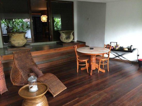 Villa Samadhi : Essecke