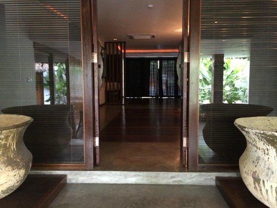 Villa Samadhi : Innerer Zimmereingang