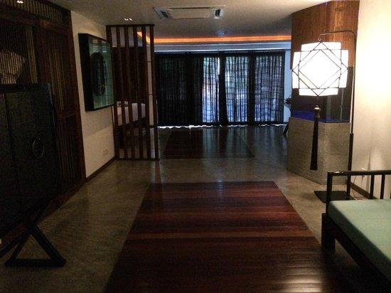 Villa Samadhi : Wohnzimmerbereich