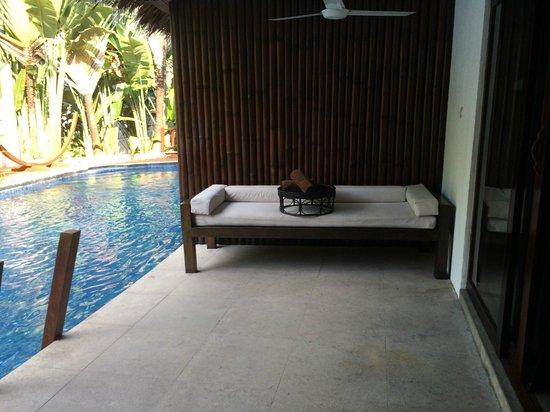Villa Samadhi : Poolterasse