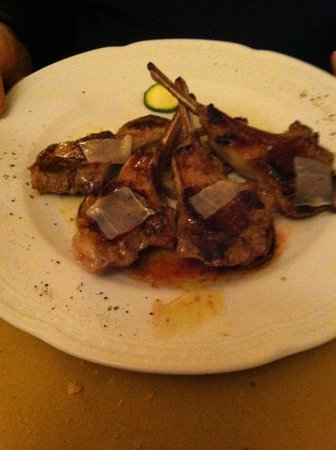 La Taverna di San Giuseppe: Lambchops