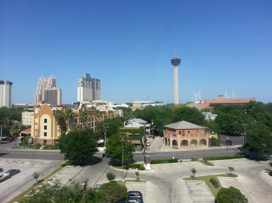 Hyatt Place San Antonio/Riverwalk: View from our room