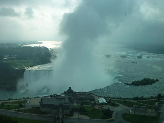 Embassy Suites by Hilton Niagara Falls Fallsview Hotel: View from the room