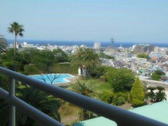 Ito Hotel Juraku : ベランダからの眺め