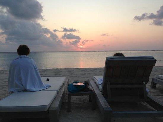 The St. Regis Mauritius Resort : Sunset