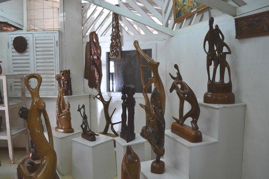 Fabian Tours: Art studio