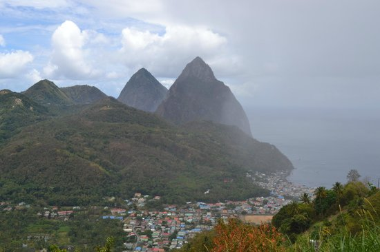 Fabian Tours: The Pitons and Soufriere