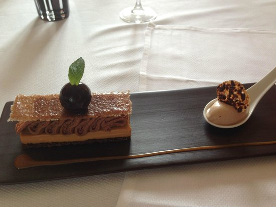 Manoir de la Boulaie : Dessert