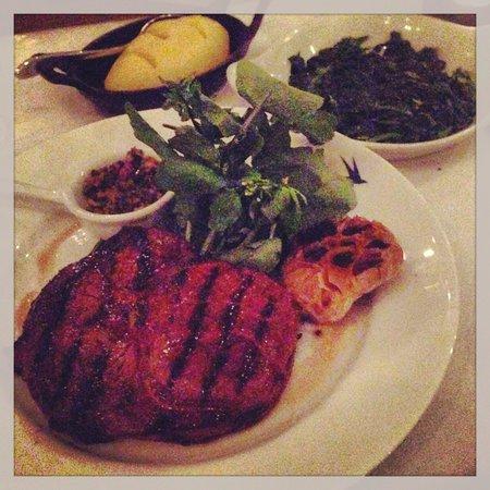 Bluebird Chelsea: Rib eye steak