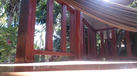 Haad Salad Villa: hammock stylee :)