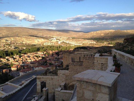 Kayakapi Premium Caves - Cappadocia: View below