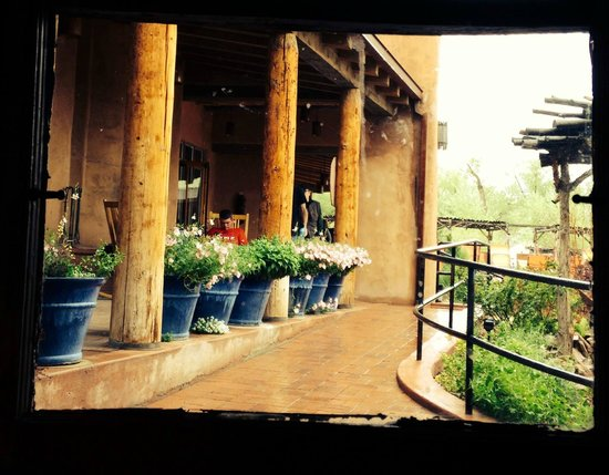 Ojo Caliente Mineral Springs Resort and Spa: Even with the Rain - we enjoyed our visit.