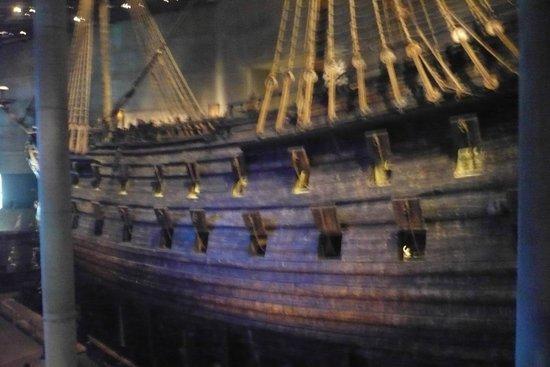 Vasa-Museum: Side view