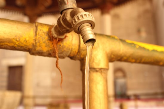 Mosque and Madrasa of Sultan Hassan : WATER THE SOURCE OF LIFE!